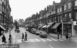Purley, Brighton Road c.1965