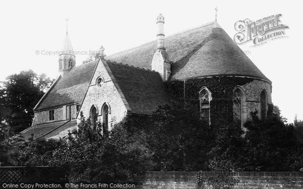 Purley Church 1903 Francis Frith