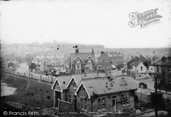 Purley, From Railway Station 1903