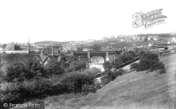 Purley, From Riddlesdown 1903