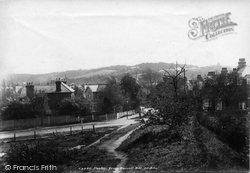 Purley, From Russel Hill 1903