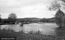 Purley, Lock And Weir c.1950