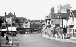 Purley, Main Road c.1955