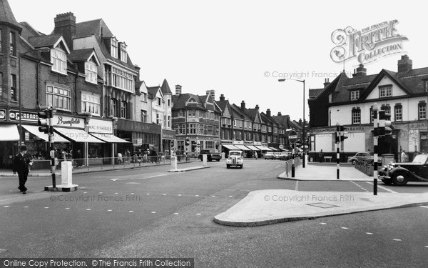 Purley Purley Corner Francis Frith
