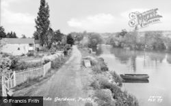 Purley, Riverside Gardens c.1960