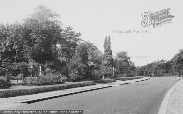 Photo Of Purley Rose Walk Francis Frith