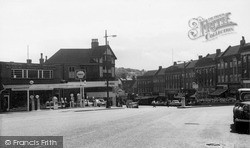Purley, Russel Hill Road c.1960