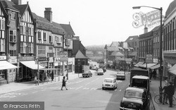 Purley, Russel Hill Road c.1965