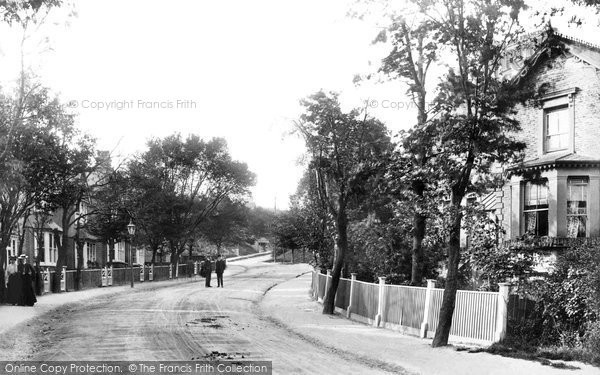 Purley Russell Hill Road 1903 Francis Frith