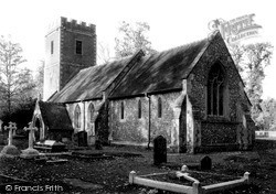 Purley, St Mary's Parish Church c.1955