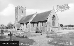 Purley, The Church c.1960