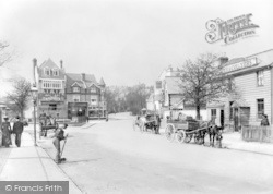 Purley, The Crossroads And Jolly Farmers c.1903