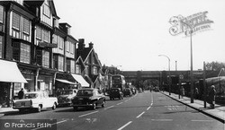 Purley, The Exchange, Purley Road c.1960