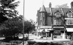 Purley, The Fountain c.1955