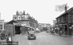 Purley, The High Street c.1950