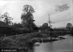 Purley, The Pond c.1955