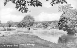 Purley, The River c.1960