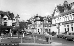 Purley, The Triangle c.1965