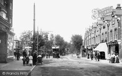 Purley, Tram Terminus 1903