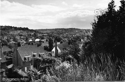 Purley, View From Purley Way c.1960