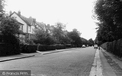 Purley, Woodcote Valley Road c.1960