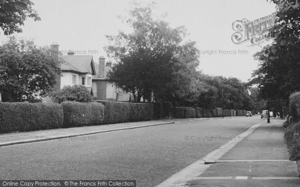 Photo Of Purley Woodcote Valley Road Francis Frith