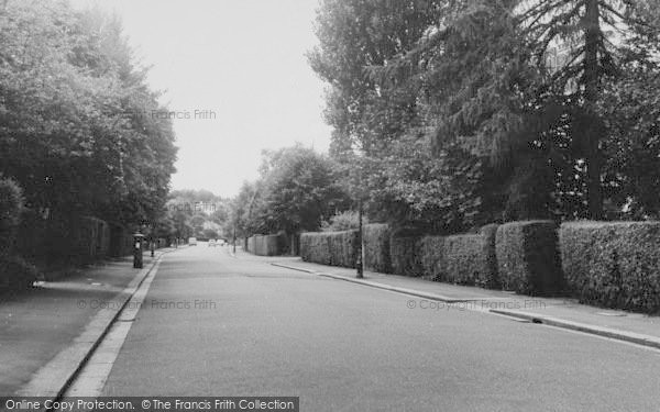 Photo of Purley, Woodcote Valley Road c.1960