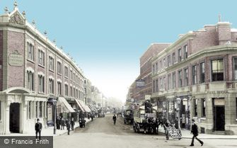 Putney, High Street 1904