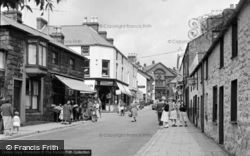 Pwllheli, Gaol Street 1958