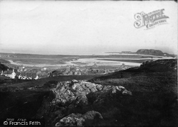 General View 1891, Pwllheli
