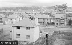 Pwllheli, General View c.1951