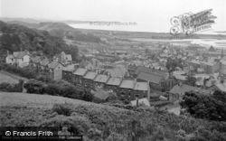 Pwllheli, General View From The Garn 1952