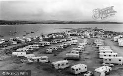 Gimblet Rock And Caravan Site c.1965, Pwllheli