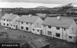 Looking Towards Bodfean Hill 1951, Pwllheli