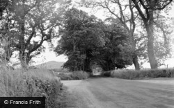 Pwllheli, Nefyn Road, Efailnewydd 1958
