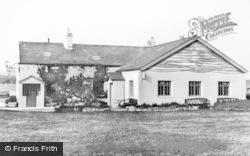 The Clubhouse, Gimblet Rock Caravan Park c.1960, Pwllheli