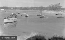 Pwllheli, The Harbour 1959
