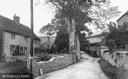 Pyecombe, A Quaint Corner c.1955