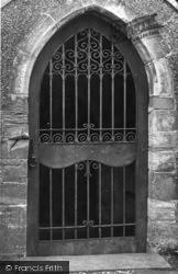 Pyecombe, Iron Gateway, Church Of The Transfiguration c.1955