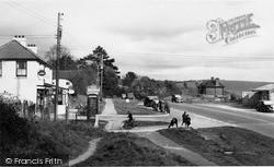 Pyecombe, Post Office Corner c.1955
