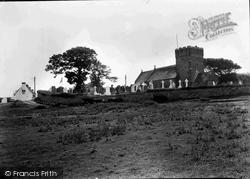 Maudlam Church And Angel Hotel 1938, Pyle