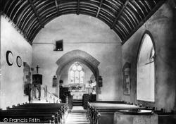 St James Church Interior 1936, Pyle