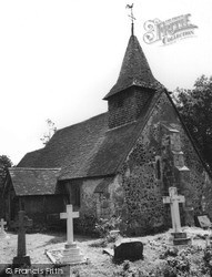 Pyrford, Church Of St Nicholas c.1955