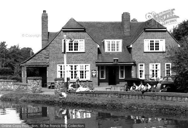 Pyrford, the Anchor Inn, c.1955 Reproduced courtesy of The Francis Frith Collection