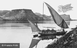 Qase Ibrim, Traveller's Boat c.1859