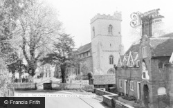 Quainton, Church Of Holy Cross And St Mary And The Alms Houses c.1965