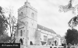 Quainton, Church Of Holy Cross And St Mary c.1955