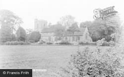 Quainton, Church Of Holy Cross And St Mary c.1960