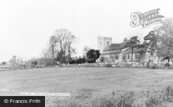 Quainton, Church Of Holy Cross And St Mary c.1965