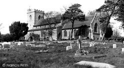 Quainton, Holy Cross And St Mary Church c.1965